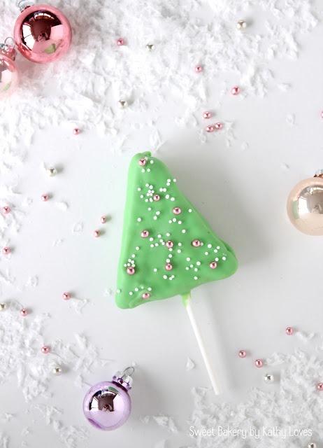 Christmas Pops Honey Cake Pops Honigkuchen am Stiel Christmas Special - by Kathy Loves
