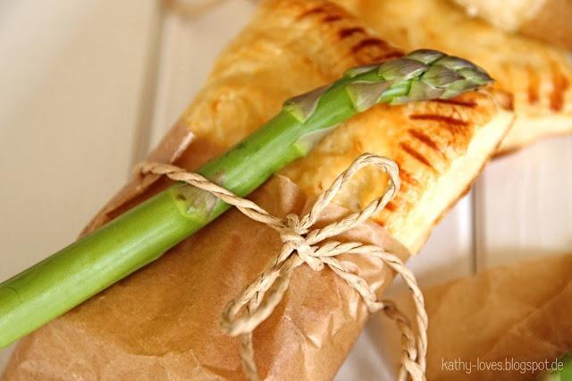 Spargel Feta Taschen Vegetarisch - by Kathy Loves