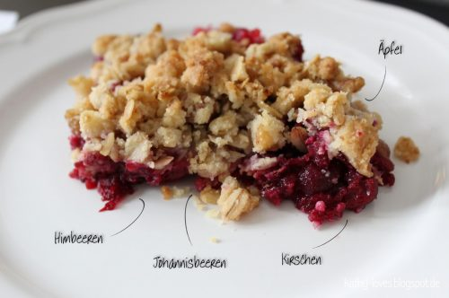 Beeren Crumble mit Walnüssen - by Kathy Loves