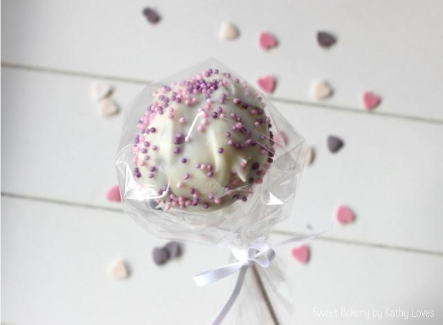 Cake Pops mit Kirschen - by Kathy Loves