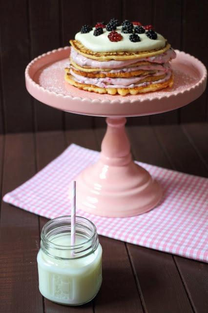 Pfannkuchentorte Gastbeitrag Detailliebe - by Kathy Loves