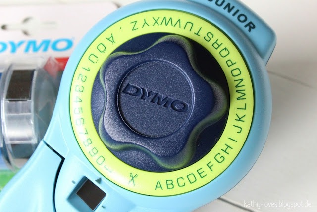 Dymo Junior - Embossing Dymo - by Kathy Loves