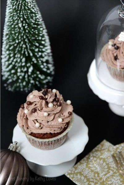 Eierlikör Schokoladen Cupcakes - by Kathy Loves