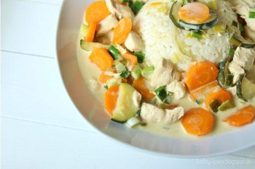 Kokos Gemüse Curry Asiatisch - by Kathy Loves