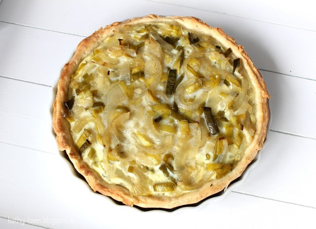 Zwiebel-Lauch-Quiche - by Kathy Loves