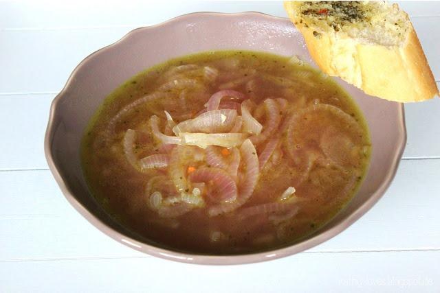 Zwiebelsuppe - Kathy Loves