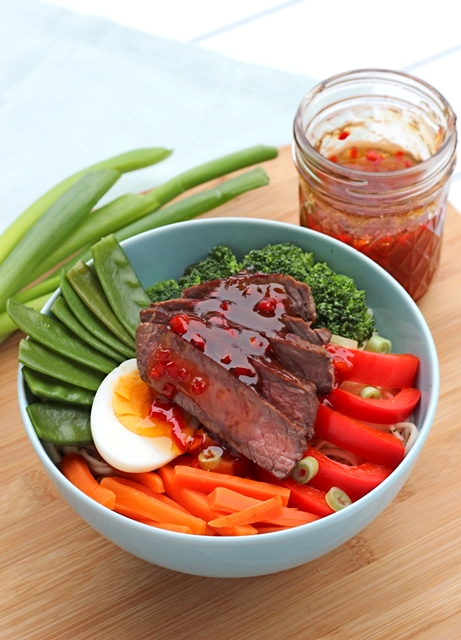 Healthy Bowl Steak by Kathy Loves Healthy Bowl Festival