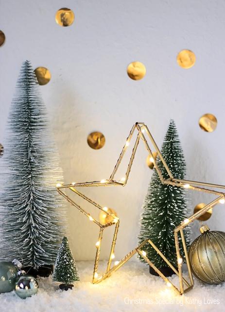 3d Leuchtstern Diy Stern Aus Strohhalmen Weihnachten Kathy Loves