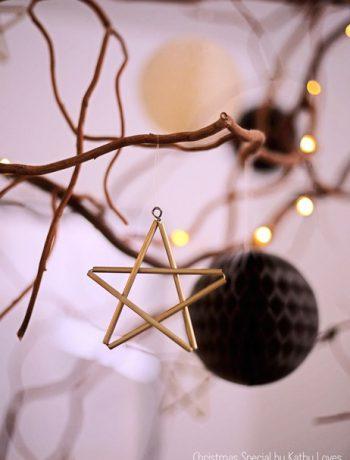 Sterne zum Aufhängen Weihnachtsdekoration Christmas