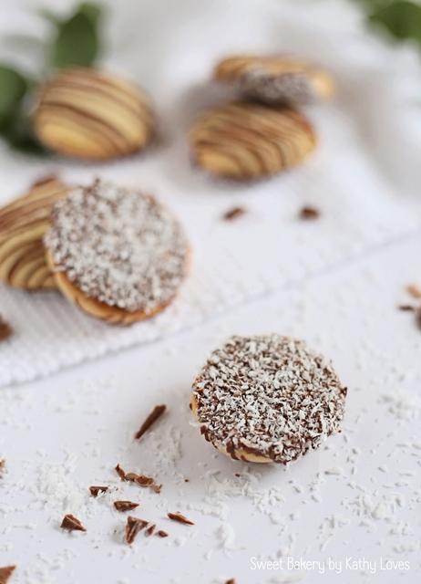 Kokos Plätzchen mit Schokolade by Kathy Loves