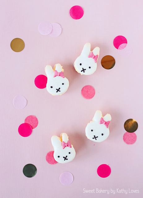 Miffy Macarons - Macaron Monday by Kathy Loves