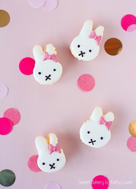 Miffy Macarons - Macaron Monday by Kathy Loves