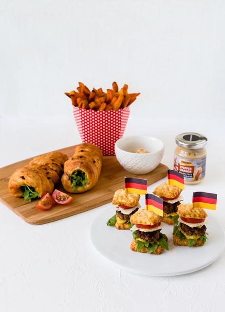 WM Food Das Runde muss ins Eckige Snacks und Fingerfood