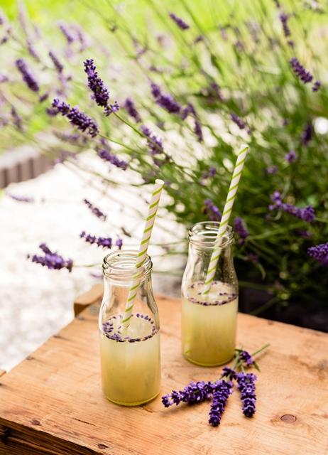 Birnen Lavendel Limonade