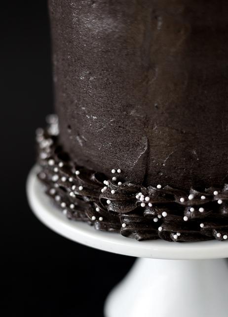 Totenkopf Torte Halloween Skull Cake - Birthday Gothic Cake