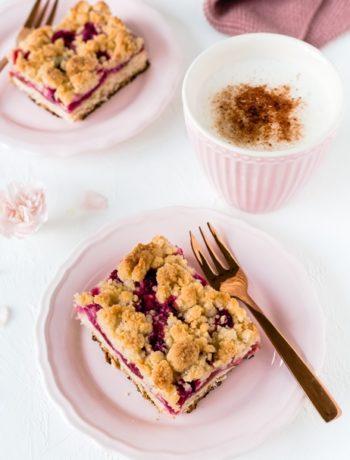 Zwetschgenkuchen vom Blech mit Streuseln Pflaumenkuchen schnell