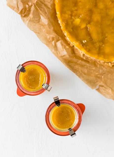 Mirabellen für Kuchen einkochen Mirabellen Baiser Tarte glutenfrei