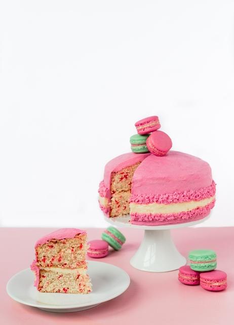 Macaron Cake - Macaron Monday Giant Macaron Cake
