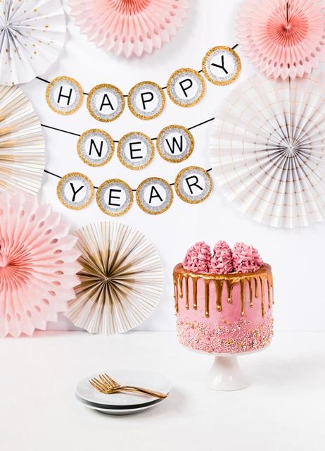 Neujahrs Torte mit Marmeladen Buttercreme