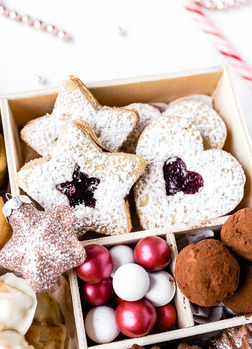Cookie Box - Spitzbuben mit Marmelade