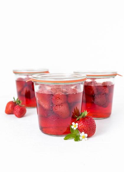 Erdbeeren einkochen