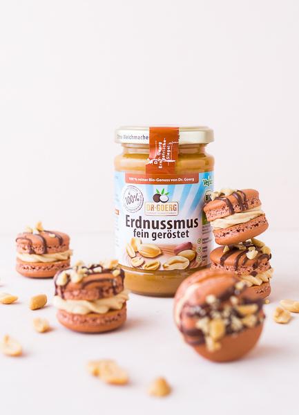 Erdnuss-Buttercreme mit Dr. Goerg Erdnussmus