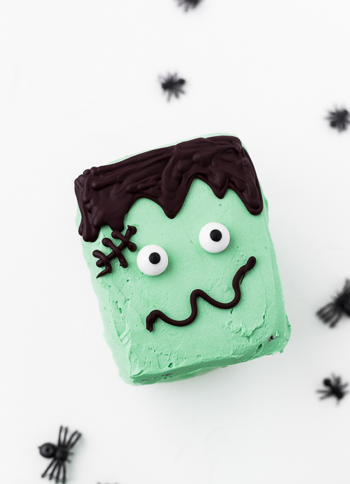 Frankensteins Monster Kuchen - Halloween Sweet Table