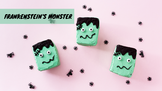 Frankensteins Monster Kuchen - Halloween Video Tutorial