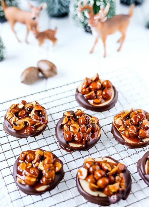 Nussknacker Plätzchen - Weihnachtsbäckerei